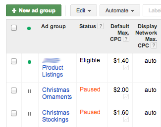 google shopping campaign setup