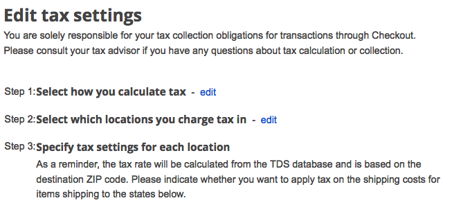 merchant center tax settings